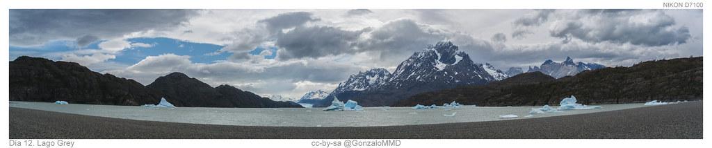 Día 12. Lago Grey