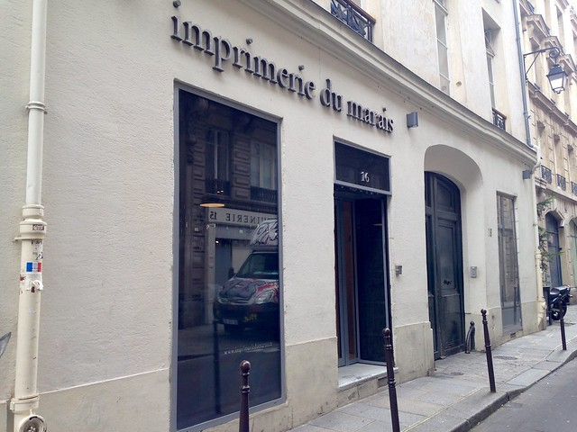 Imprimerie du Marais