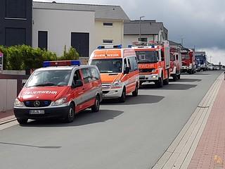 Mot-Marsch der Einsatzabteilung - 18./19.06.16