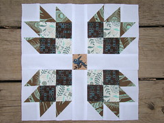 """testblock in colors Teal,Brown and Blue for """"nubee"""" group by Libellenart"""