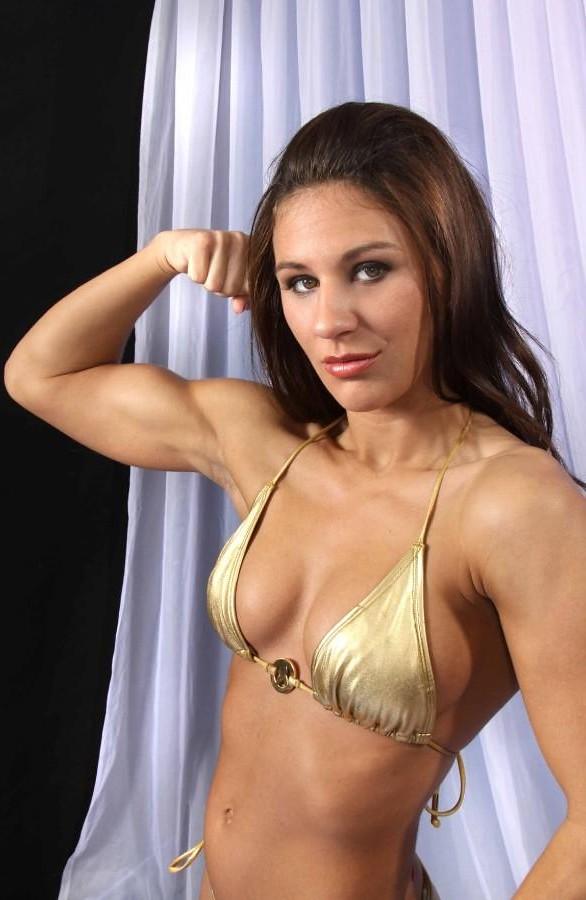 "Female boxer ""Hot Stuff"" Hollie Dunaway   sabrebiade"