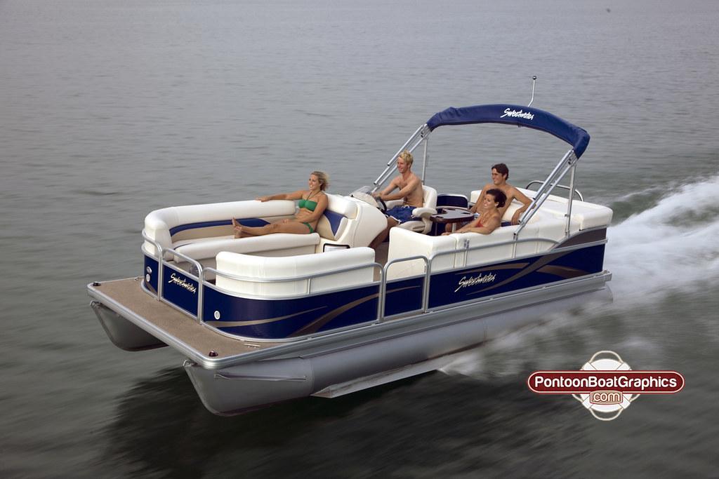 Pontoon Boat Graphics Boat Stripes Names Vinyl Welcome