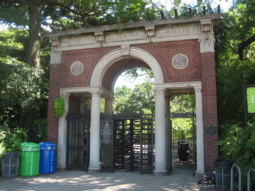 Flatbush Avenue Entrance Brooklyn Botanic Garden Flatbush Flickr