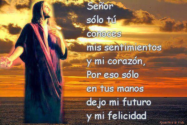 Todo lo dejo en tus manos mi se or dios los bendiga www for En tus manos senor
