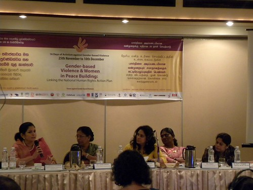 Panel discussion Operationalizing the Women and Peace Agenda. | by UNDPSriLanka