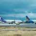 Planes at Honolulu International Airport