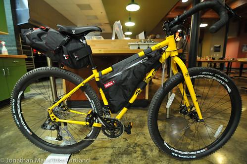 Bikepacking 101 event at Chris King HQ-9