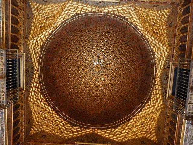 Cúpula de la Sala de los Embajadores (Real Alcázar de Sevilla)