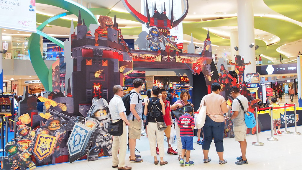 You won't miss the NEXO Knights event happening at VivoCity Court B.