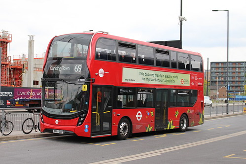 Tower Transit DH38502 on Route 69, Canning Town