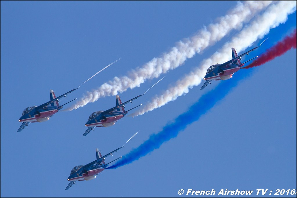 Patrouille de France , Meeting de l'air BA-125 Istres 2016 , Meeting Aerien 2016