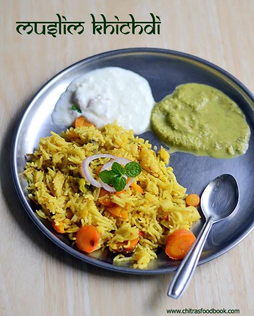 Muslim khichdi recipe