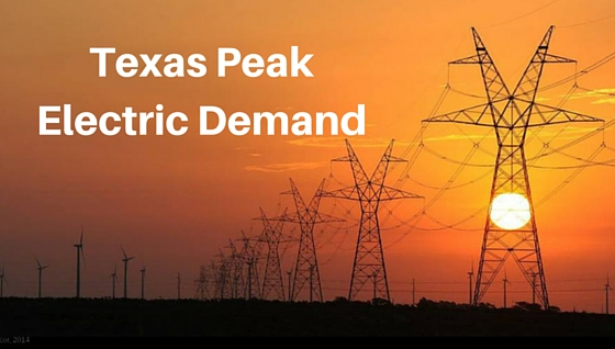 Texas Peak Electric Demand: What You Should Know