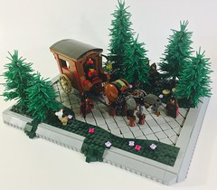 Elemental Drawn Supply Wagon (main) by dzambito42