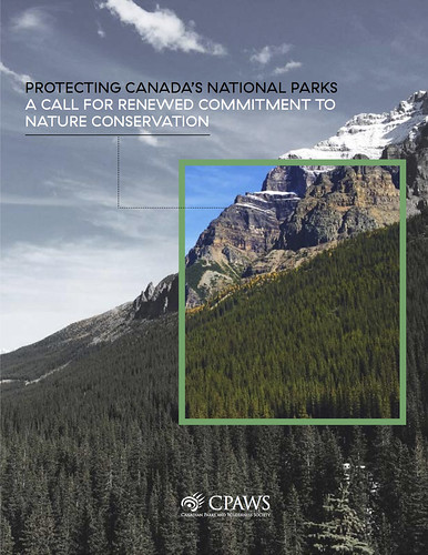 CPAWS Parks Report 2016 @cpaws