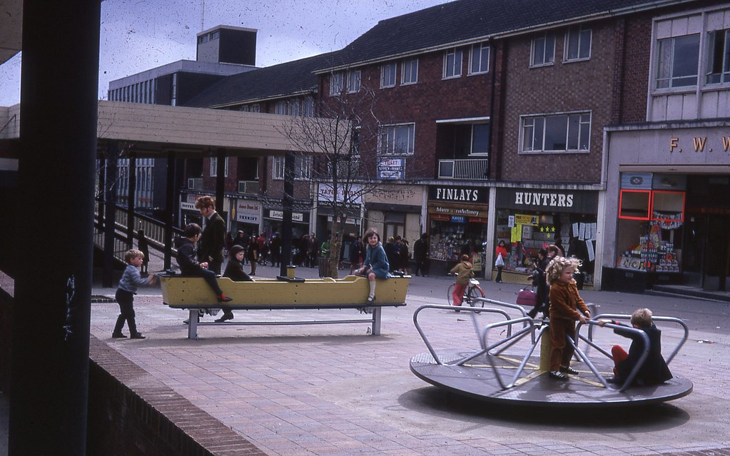 Town Centre Peterlee Photos Sketches Tables And Plans