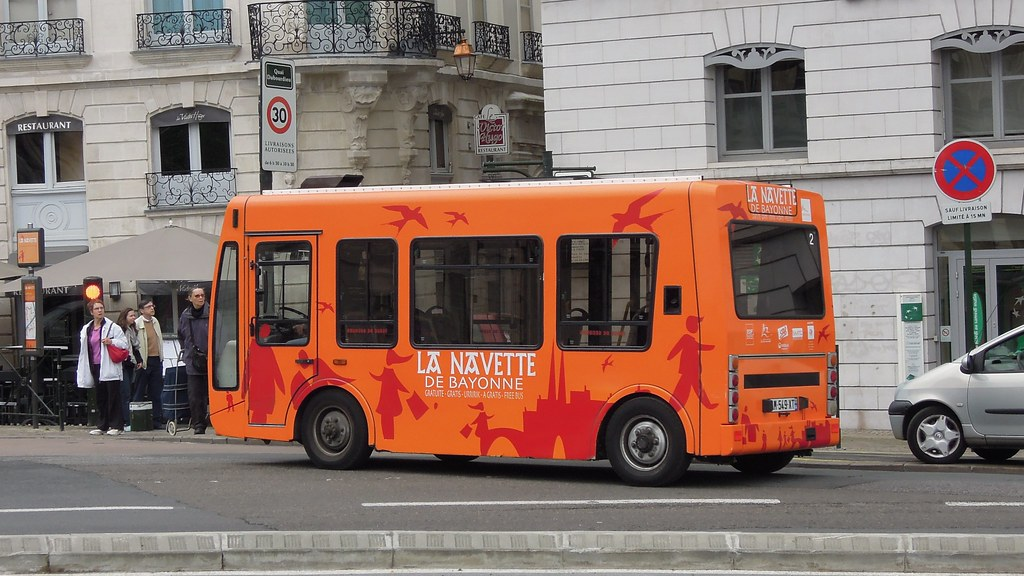 la navette de bayonne electric bus bayonne aquitaine flickr. Black Bedroom Furniture Sets. Home Design Ideas
