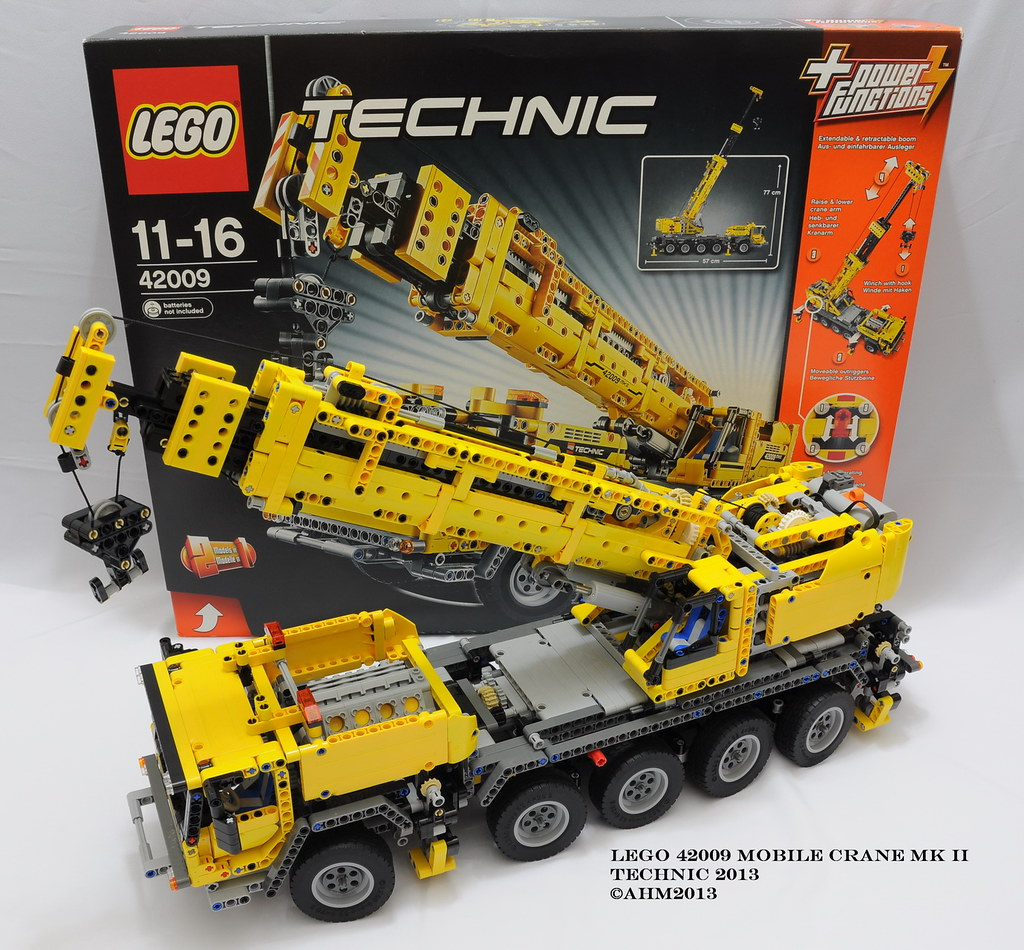 All Sizes Lego Technic 42009 Mobile Crane Mk Ii Flickr Photo