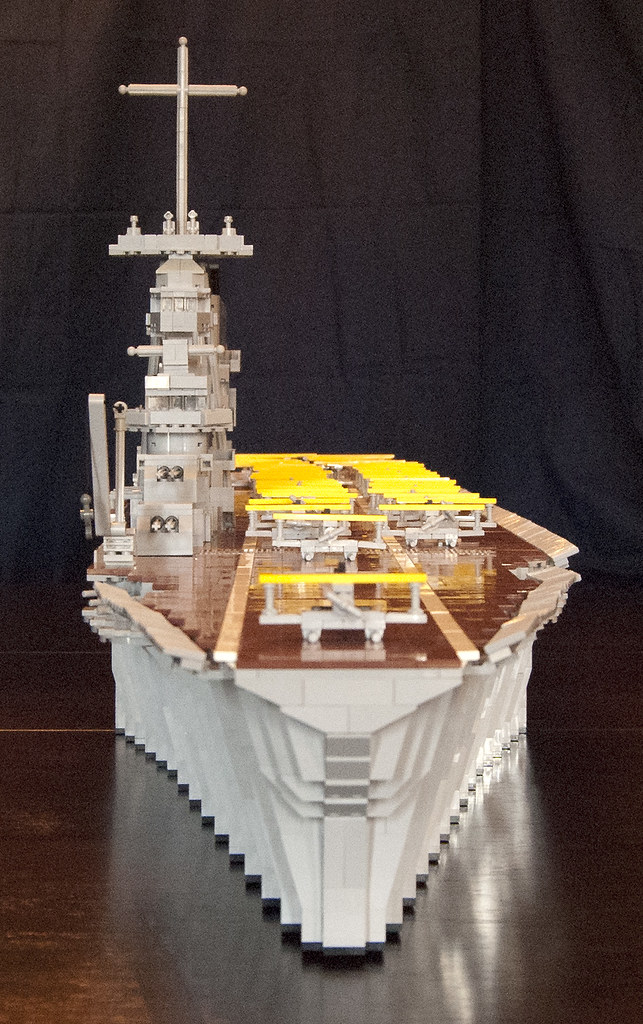 lego aircraft carrier  uss lexington  cv 2