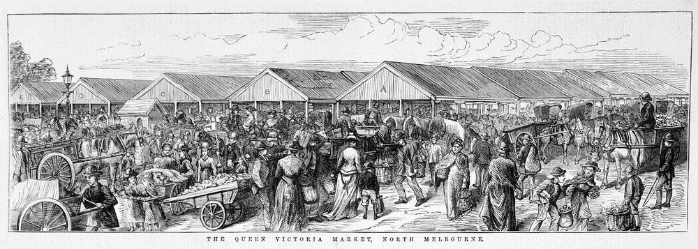 """Résultat de recherche d'images pour """"queen victoria market 1878"""""""