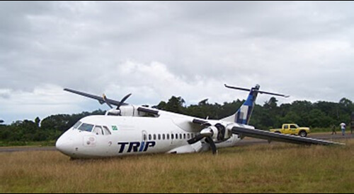 O ACIDENTE, Queda de avião em Altamira