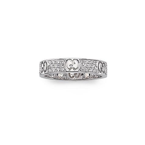 111ce9132 Gucci Icon 18ct white gold diamond ring | www.diamondsjar.co… | Flickr