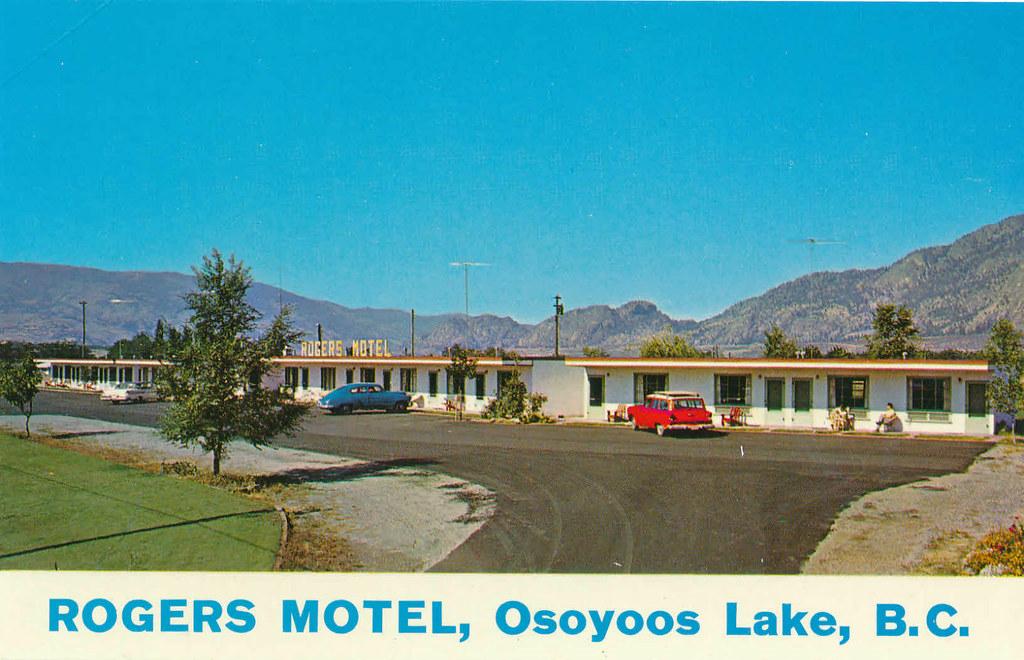 Rogers Motel Osoyoos Lake Bc 1961 Quot Rogers Motel
