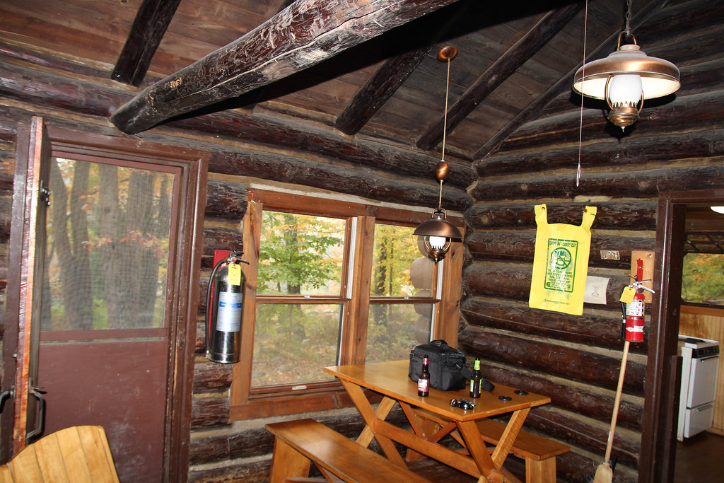 Dining Area Of Our Cabin At Stokes State Forest There