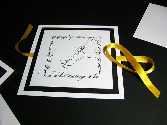Faire-part-mariage-calligraphie-paris-co pperplate-calligraphy-wedding ...