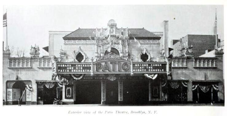 Patio Theatre, Brooklyn, New York In 1929 | CharmaineZoeu0027s Marvelous  Melange | Flickr