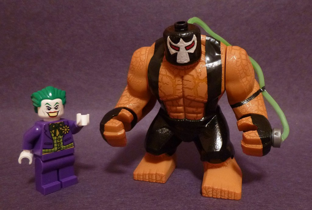 Lego Batman Arkham Asylum Bane How Do You Like My