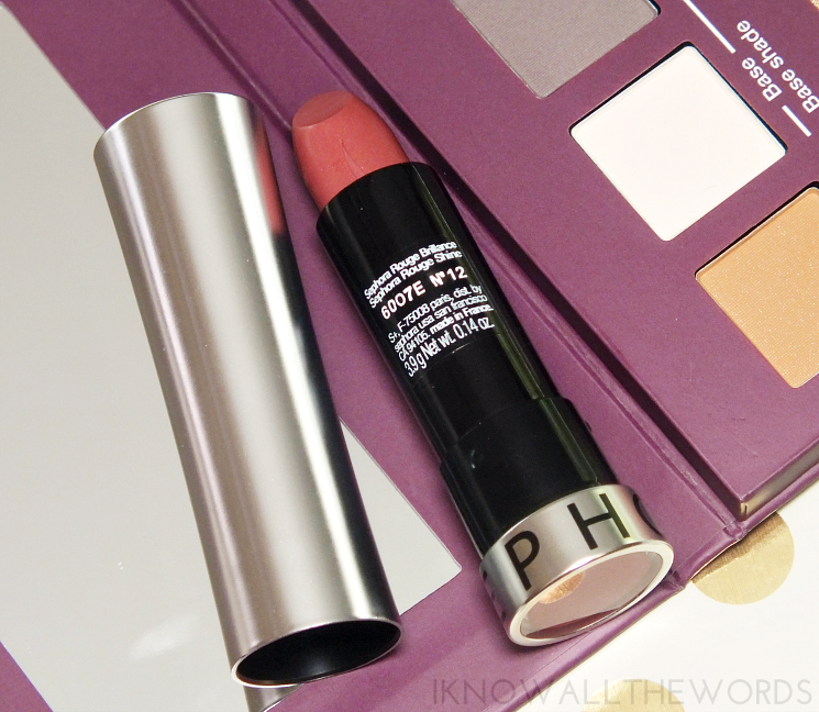 sephora collection rouge shine no. 12 (3)