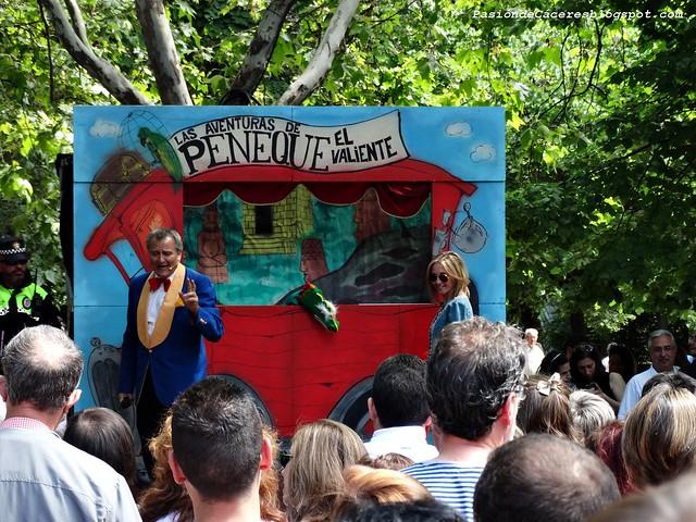 Marionetas en San Fernándo de Cáceres