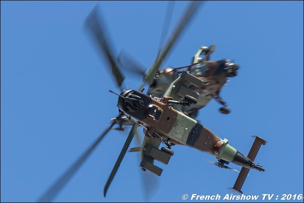Patrouille EC665 Tigre , Aviation légère de l'Armée de terre , hélicoptères Tigre HAP , ALAT ,lieux, Meeting Aerien 2016 , Canon Reflex , EOS System