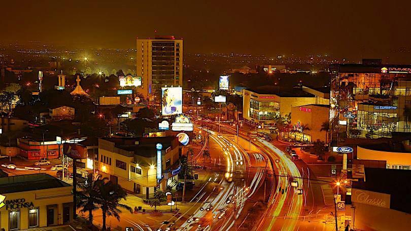 San Pedro Sula Honduras De Noche San Pedro Sula