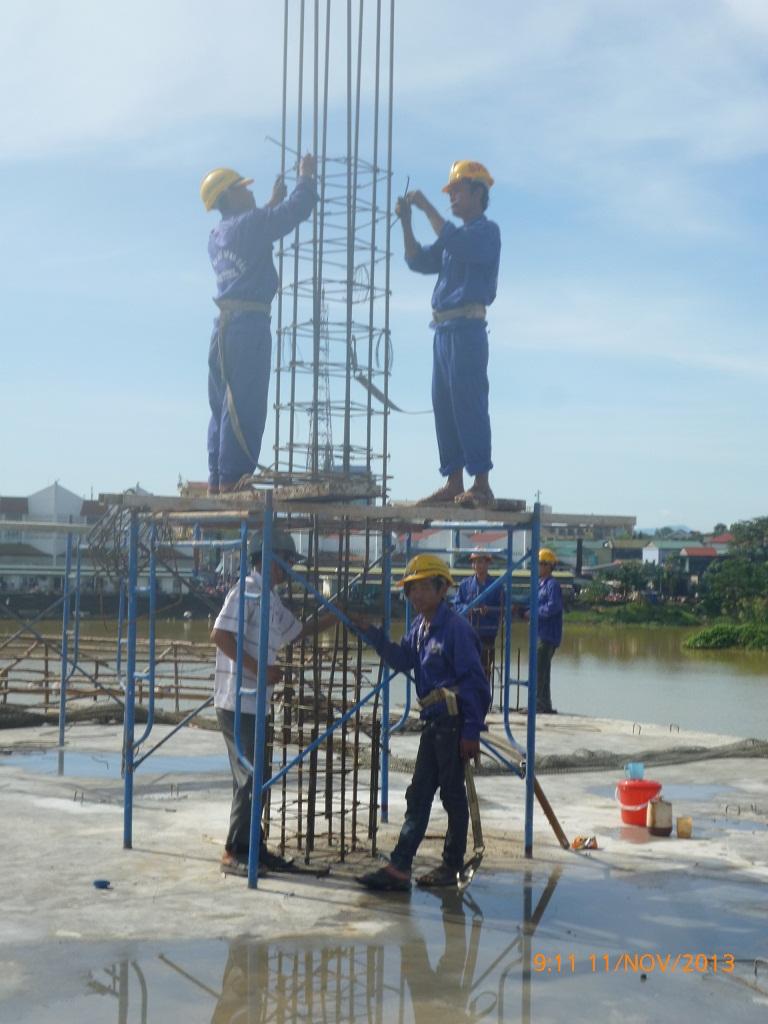 Lap Dung Cot Thep Tác Lắp Dựng Cốt Thép Cột