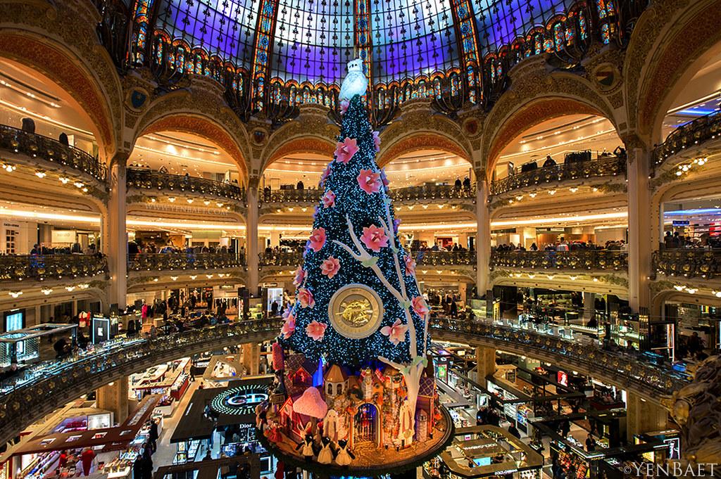Paris - Galeries Lafayette Christmas Tree | Galeries LaFayet… | Flickr