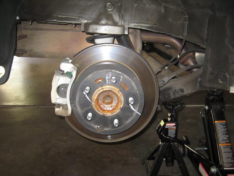 2013 kia soul rear disc brakes caliper bracket rotor flickr. Black Bedroom Furniture Sets. Home Design Ideas
