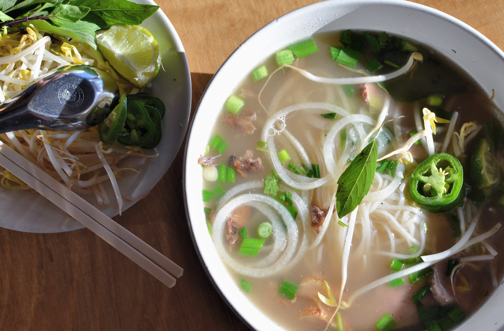 Duck Pho | The signature pho from NGON features Wild Acres ...