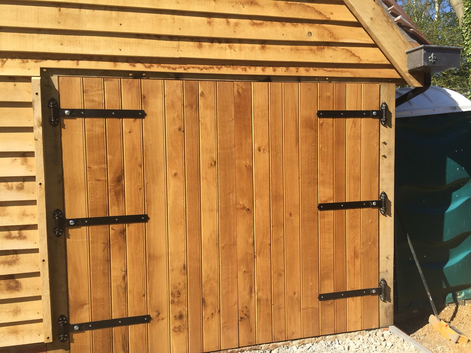Oak Framed Garages Solid Oak Garage Doors Softwood
