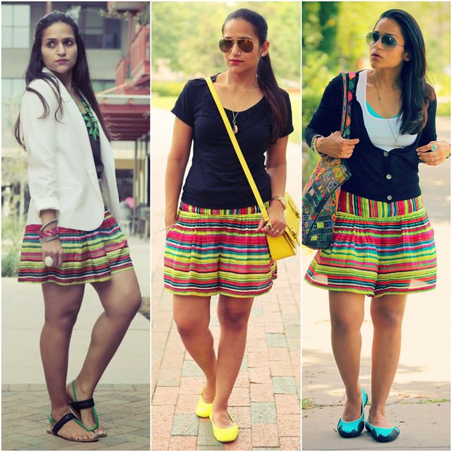 06_Three Ways To Style A Skort Tanvii.com
