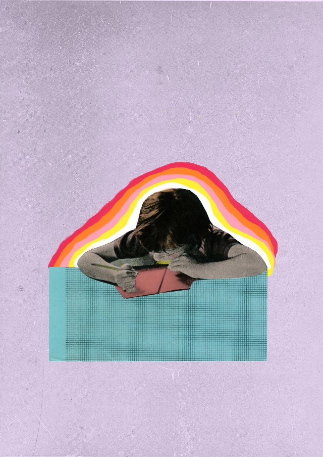 testing times collage by laura redburn