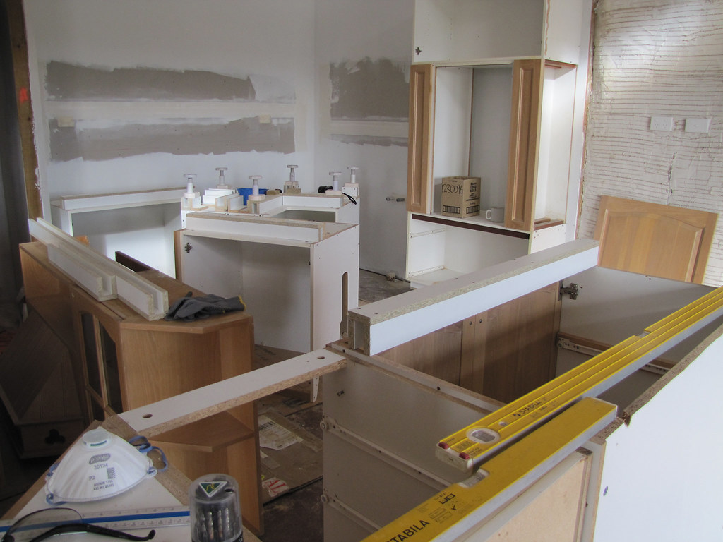 Converting Kitchen Cabinets With Fixed Shelves To Moveable Shelves