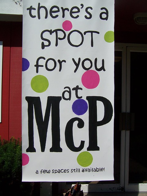 There's a spot for you at MCP banner