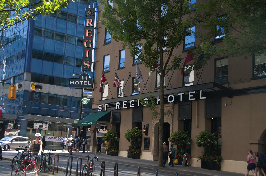 St Regis Hotel Vancouver Canada