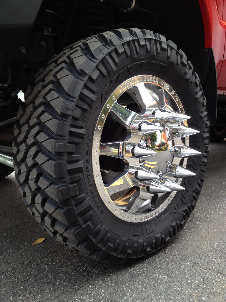DUALLY - 2012 Ford F350 American Force Wheels gets new whe ...