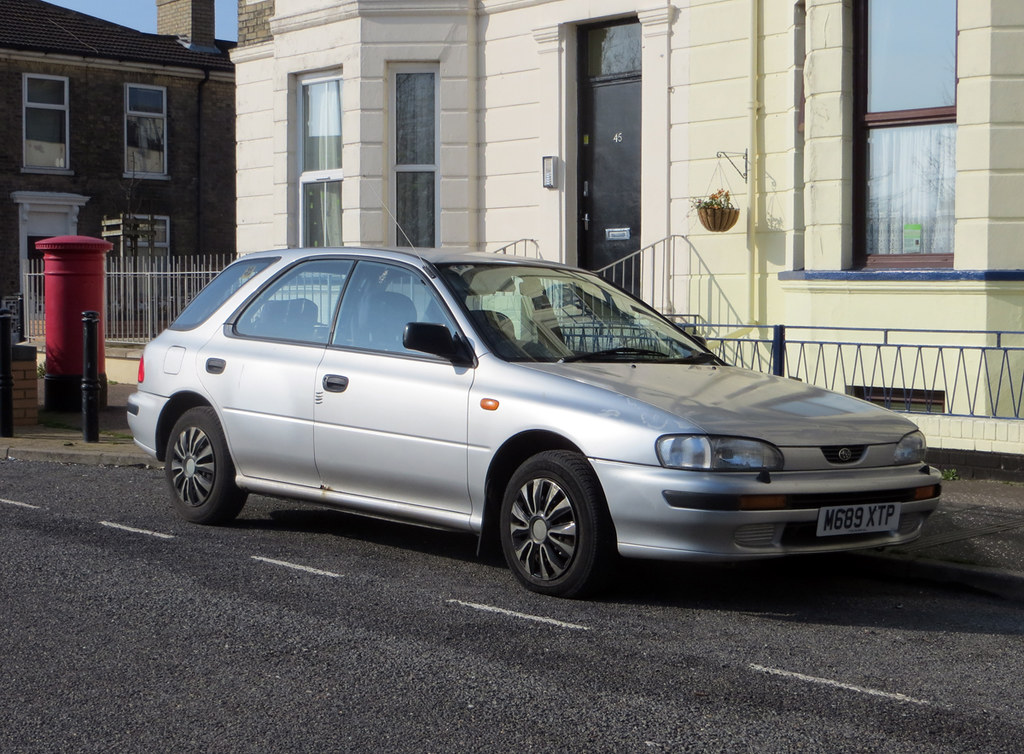 1994 Subaru Impreza 1 8 Gl 4wd Always Good To See One Of