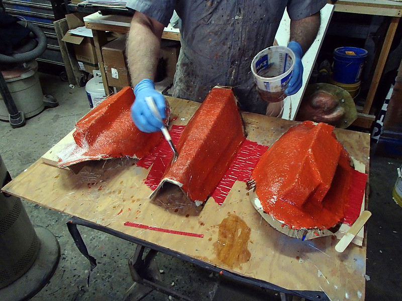 Glassing Leg Molds