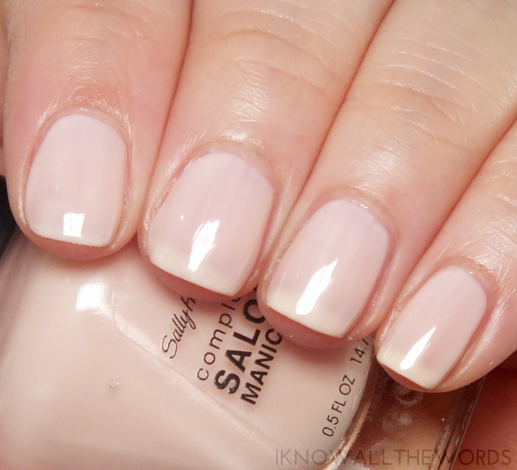 the fast five sally hansen sweet talker