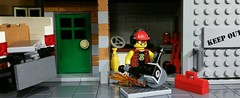 Handyman With An Angle Grinder (Purist) by _primozm